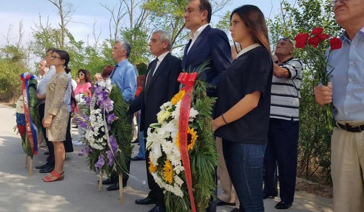 "В СОК ""Камчия"" БСП почете паметтана подводничарите антифашисти"