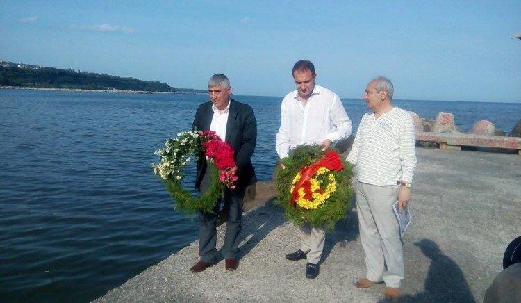 Социалисти от Варна почетоха паметта на разстреляни антифашисти
