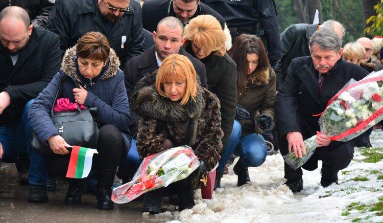 БСП-Варна се включи в общоградските чествания по повод 3-ти март